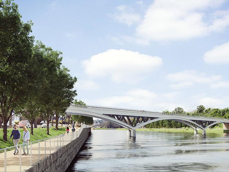 Maîtrise d'œuvre pour la construction du pont aval de Lannion (22)