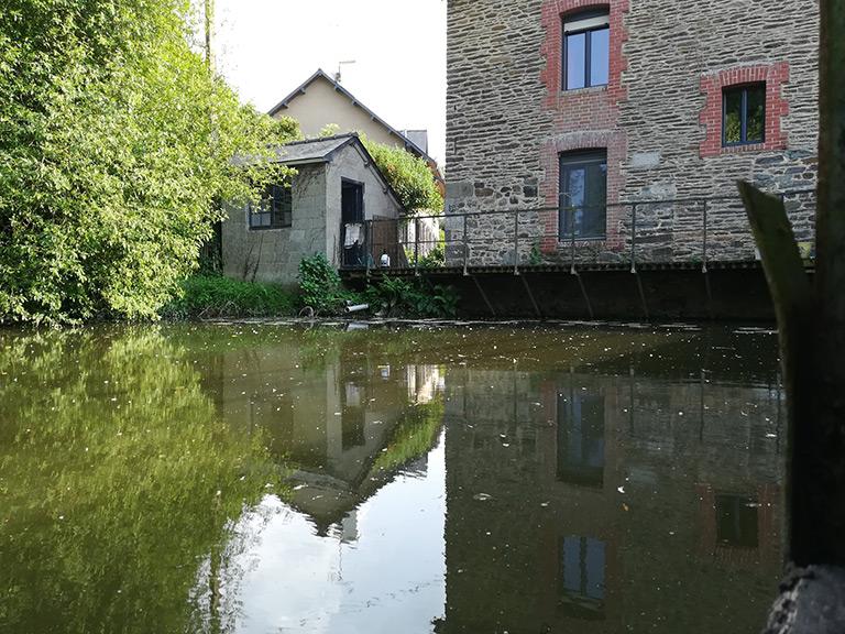 Étude préalable à l'aménagement du moulin de la Motte (35)