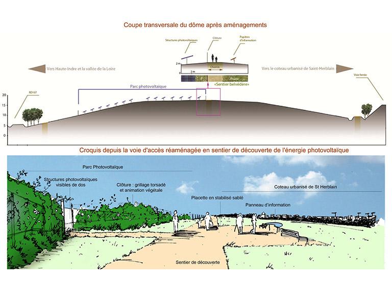 Projet de centrale photovoltaïque à Tougas – Étude d'impact (44)